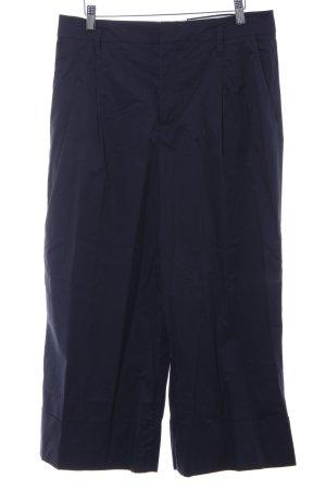 Zara Woman Culotte bleu foncé style décontracté