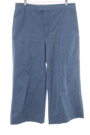 Zara Woman Culottes steel blue casual look