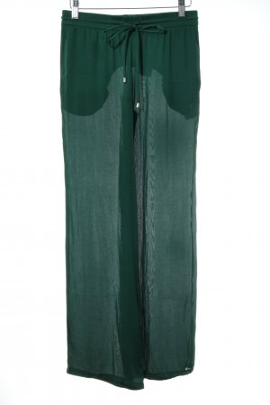Zara Woman Culottes forest green casual look