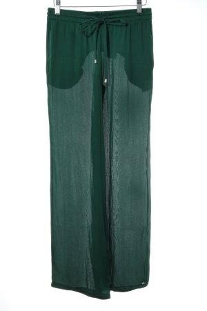 Zara Woman Culotte vert forêt style décontracté