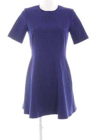 Zara Woman Cut out jurk blauw casual uitstraling