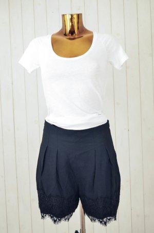 Zara Woman Shorts negro poliamida