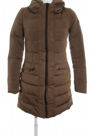 Zara Woman Daunenjacke beige Casual-Look
