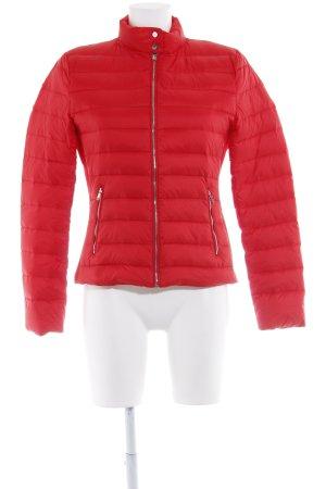 Zara Woman Daunenjacke rot Casual-Look