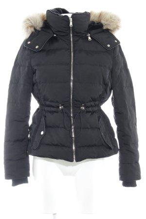 Zara Woman Piumino nero stile casual