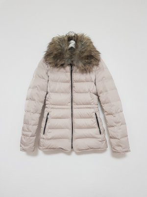 Zara Woman Down Jacket Blogger Teddyfell
