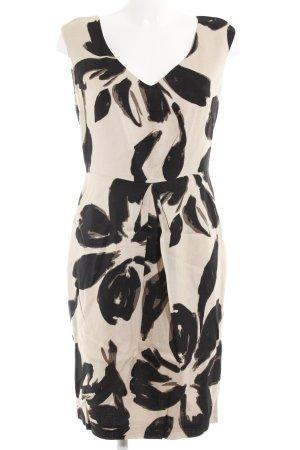 Zara Woman Etuikleid abstraktes Muster Safari-Look