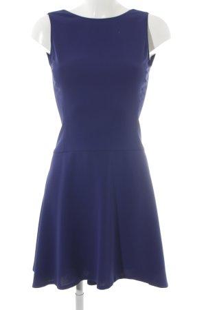 Zara Woman Etuikleid blau Elegant