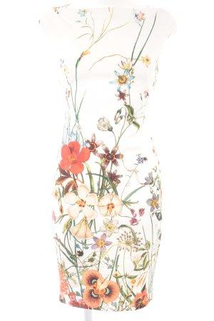 Zara Woman Etuikleid Blumenmuster Business-Look