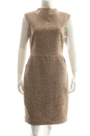 Zara Woman Etuikleid hellbraun Urban-Look