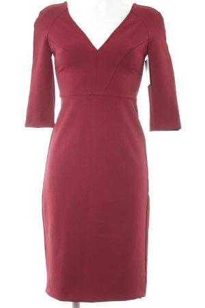 Zara Woman Etuikleid rostrot Elegant