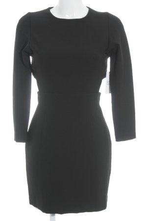 Zara Woman Etuikleid schwarz schlichter Stil