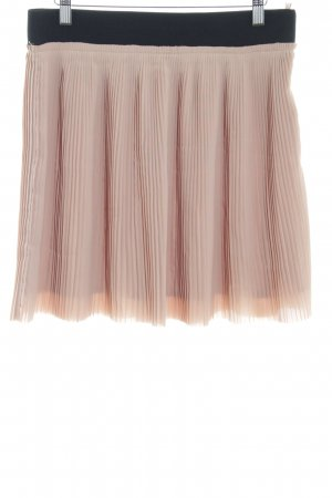 Zara Woman Falda a cuadros nude-negro look casual c16bcfcf2389