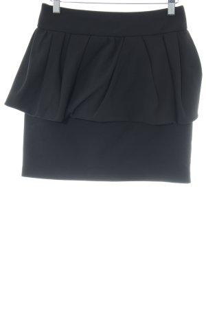 Zara Woman Faltenrock schwarz Elegant
