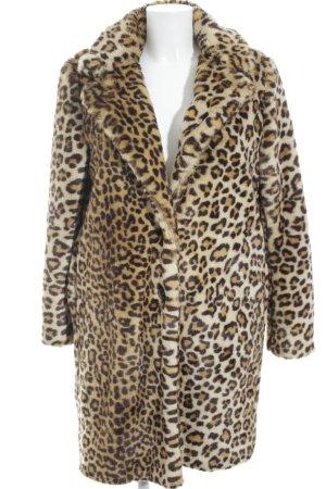 Zara Woman Felljacke Animalmuster Animal-Look