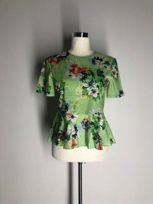Zara Woman florales Schößchentop