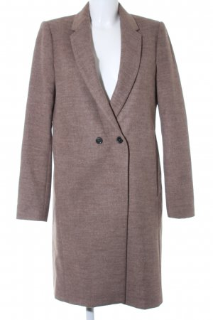 Zara Woman Frock Coat grey brown flecked elegant