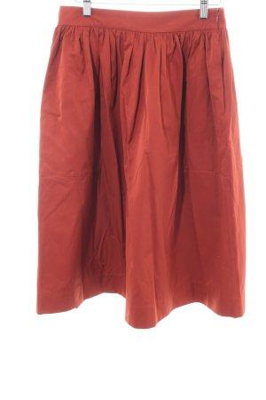 Zara Woman Glockenrock rot Casual-Look