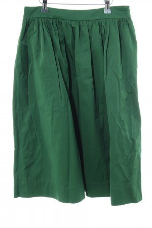 Zara Woman Gonna a campana verde stile casual