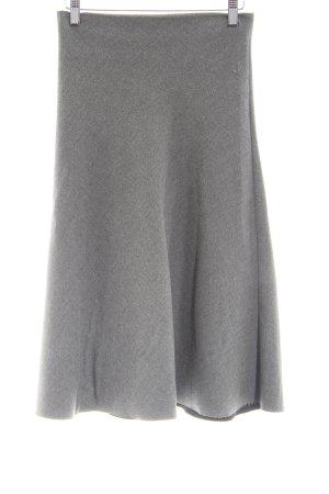 Zara Woman Gonna a campana grigio chiaro puntinato stile casual