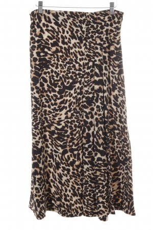 Zara Woman Glockenrock Leomuster Animal-Look