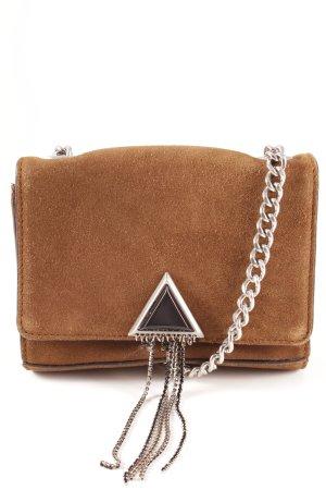 Zara Woman Handtasche hellbraun klassischer Stil