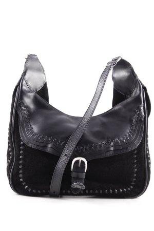 Zara Woman Handbag black country style