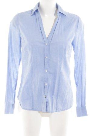 Zara Woman Hemd-Bluse neonblau Business-Look