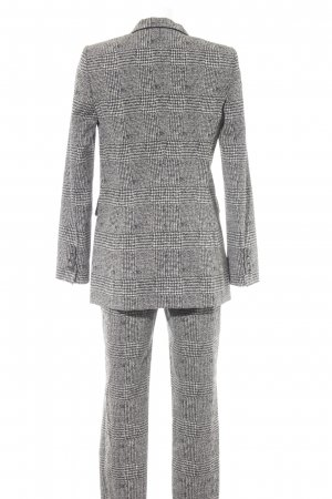 Zara Woman Hemd-Bluse schwarz Karomuster Casual-Look
