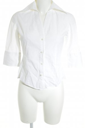 Zara Woman Hemd-Bluse weiß