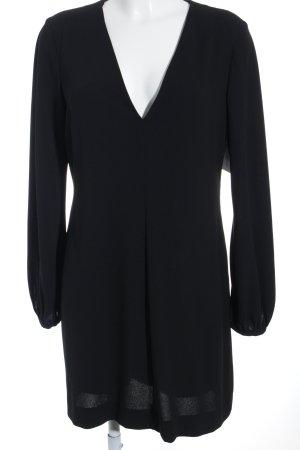 Zara Woman Hemdblusenkleid schwarz Elegant