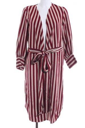 Zara Woman Shirtwaist dress striped pattern extravagant style