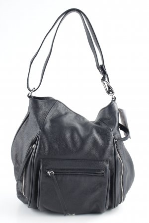 Zara Woman Henkeltasche schwarz schlichter Stil