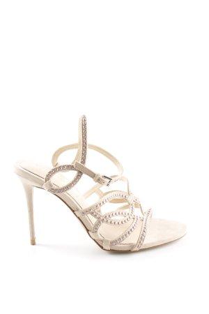 Zara Woman High Heel Sandaletten nude Elegant