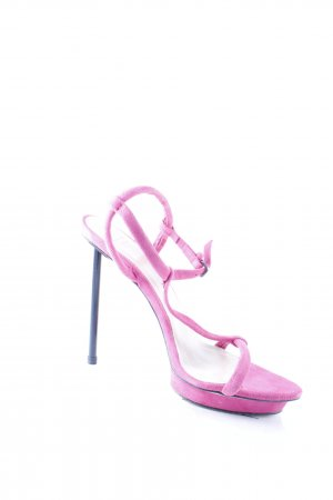 Zara Woman High Heel Sandal pink street-fashion look