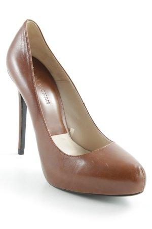 Zara Woman High Heels cognac Elegant