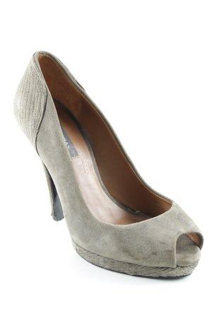 Zara Woman High Heels grüngrau Elegant