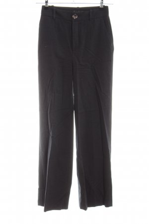 Zara Woman High-Waist Hose schwarz Business-Look