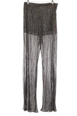 Zara Woman High-Waist Hose Galaxymuster extravaganter Stil