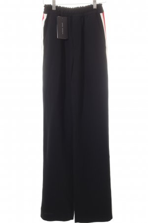 Zara Woman High-Waist Hose Streifenmuster sportlicher Stil
