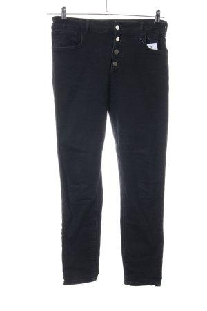 Zara Woman High Waist Jeans schwarz Casual-Look