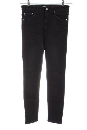 Zara Woman High Waist Jeans black casual look