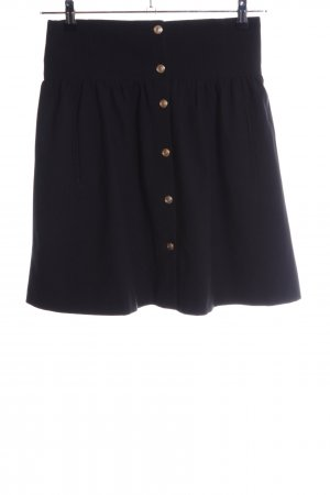 Zara Woman High Waist Skirt black business style