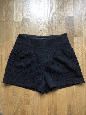 ZARA Woman High-Waist Short mit Struktur, Größe XS