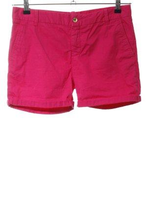 Zara Woman High-Waist-Shorts rot Casual-Look