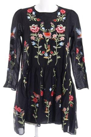 Zara Woman Abito hippie motivo floreale Stile Boho