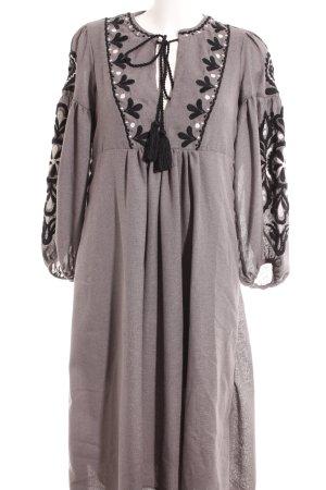 Zara Woman Hippiekleid Ornamentenmuster Gypsy-Look