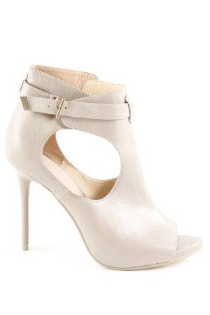 Zara Woman Pumps met hoge zool beige casual uitstraling