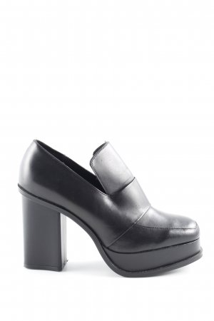Zara Woman Décolleté accollato nero stile urbano