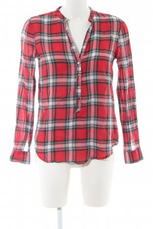Zara Woman Lumberjack Shirt allover print casual look